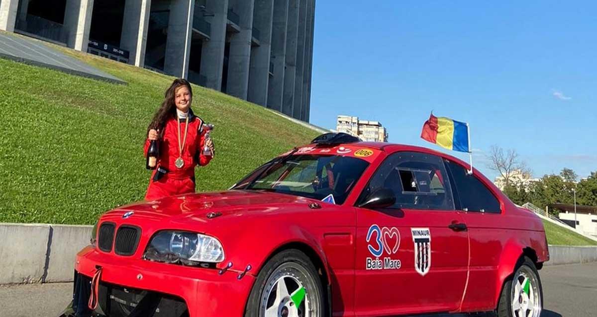 Natalia Iocsak obține cea mai bună performanță a sa (podium) la CN de drift