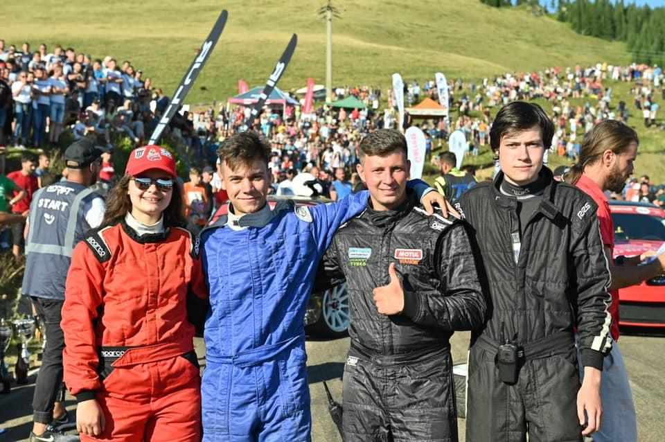 Natalia Iocsak s-a clasat pe locul 4 la categoria Semipro pe TransRarău