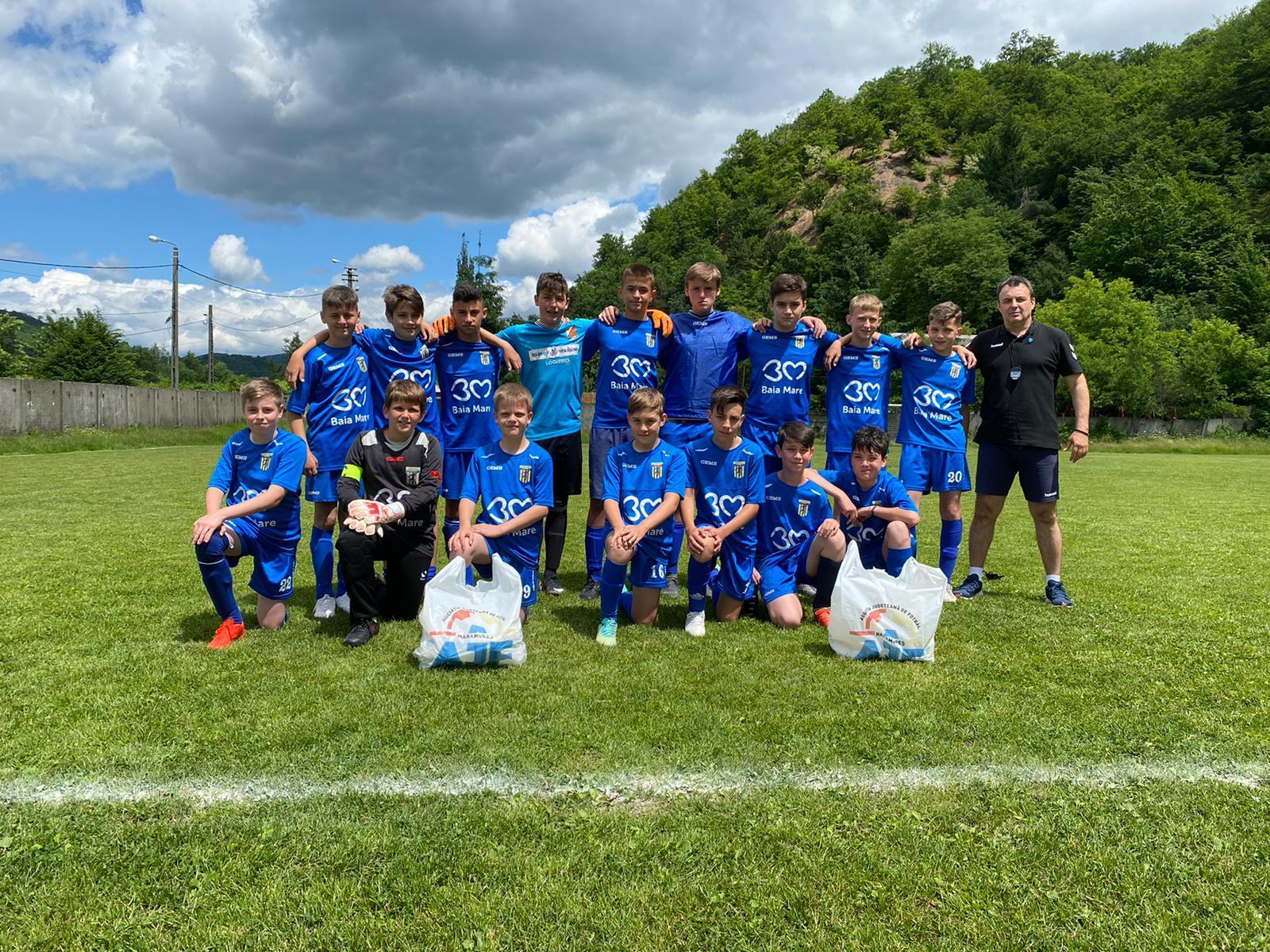 Minaur Under 13 în finala Campionatului Județean