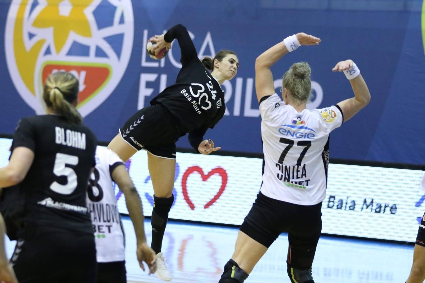Jovana Kovacevic a două jucătoare din Liga Florilor; Linn Blohm cel mai bun pivot