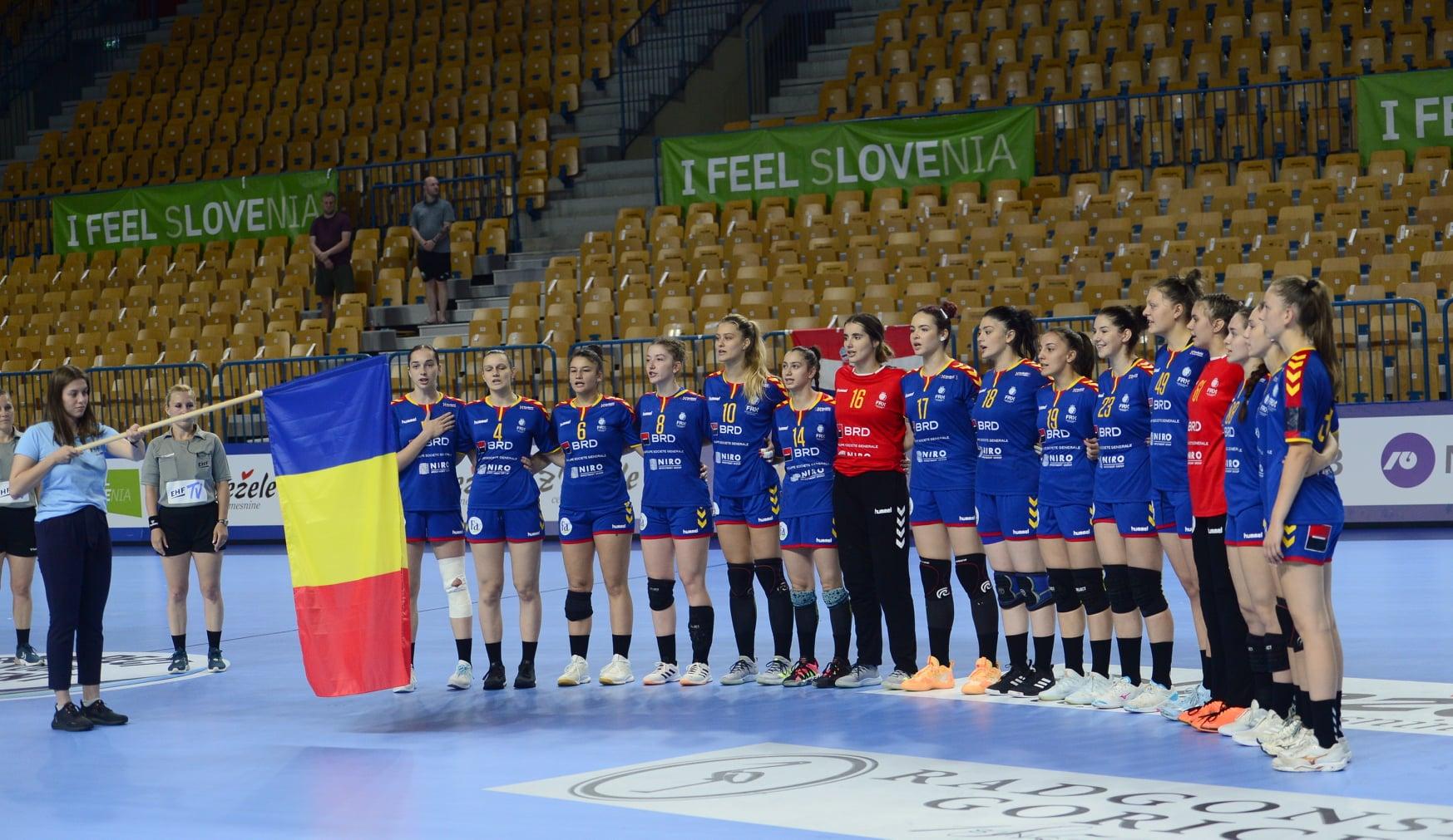 România a terminat pe locul 5 la Europenele U19 din Slovenia